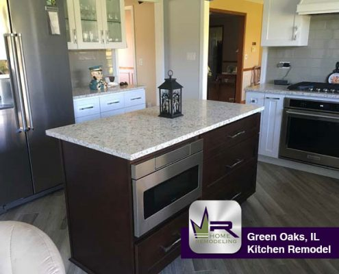 Green Oaks Kitchen Remodel - 1005 Sunrise Rd, Libertyville, IL 60048 by Regency Home Remodeling