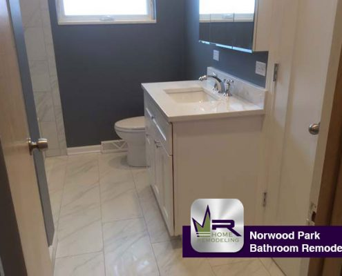 Norwood Park bathroom Remodel by Regency