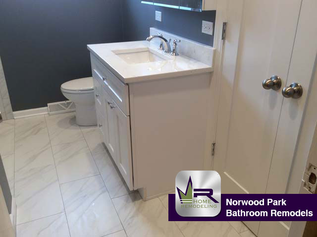 Bathroom Remodel - 7562 W Palatine Ave, Chicago, IL 60631 by Regency Home Remodeling
