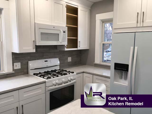 Oak Park Kitchen Remodel - Regency (773) 930-4465