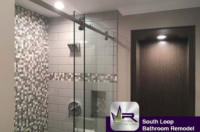 South Loop bathroom remodel by Regency
