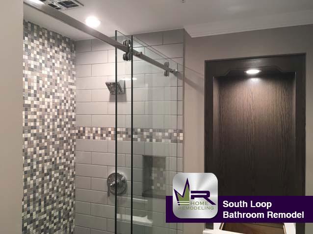 South Loop bathroom remodel by Regency