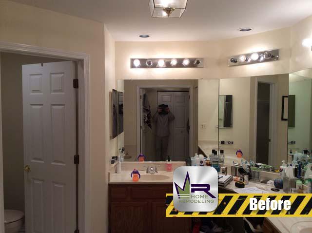 Bathroom Remodel - 429 Evergreen Dr, Vernon Hills, IL 60061 by Regency Home Remodeling