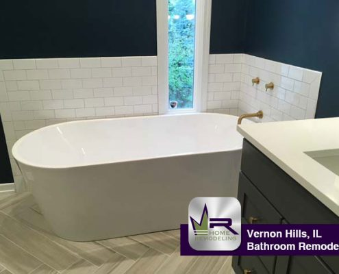 Bathroom Remodel - 429 Evergreen Dr, Vernon Hills, IL 60061 by Regency Home Remodeling