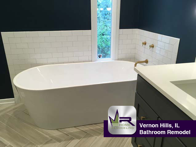 Vernon Hills Bathroom Remodel by Regency