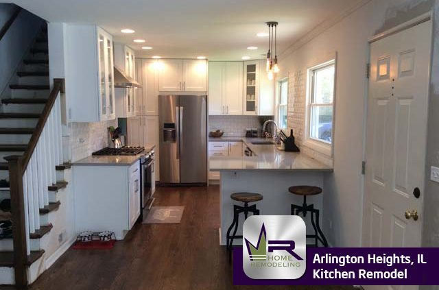 Kitchen remodel in Arlington Heights by Regency Home Remodeling