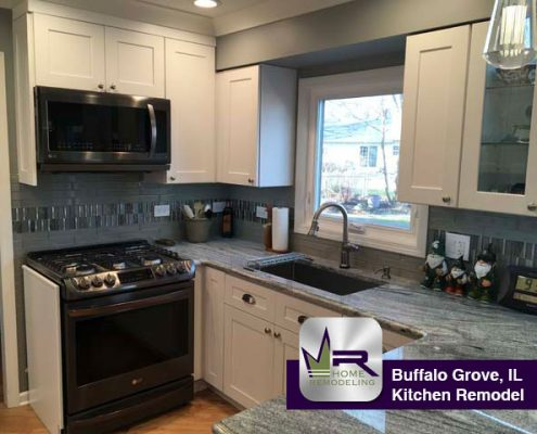 kitchen remodel in Buffalo Grove by Regency Home Remodeling