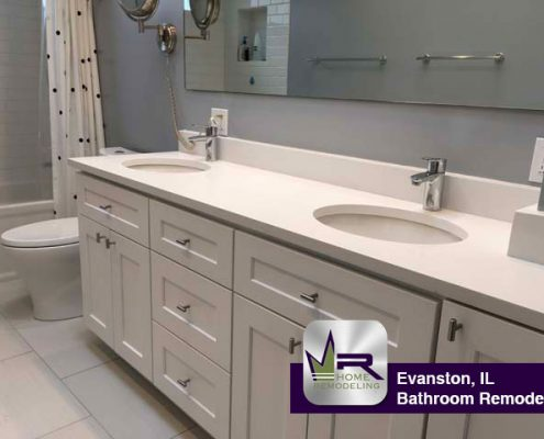 Evanston Bathroom Remodel by Regency