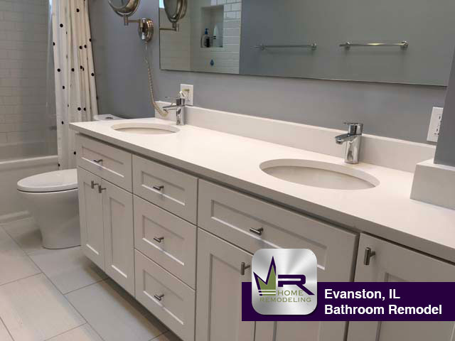 Bathroom Remodel - 934 Elmwood Ave, Evanston, IL 60202 by Regency Home Remodeling