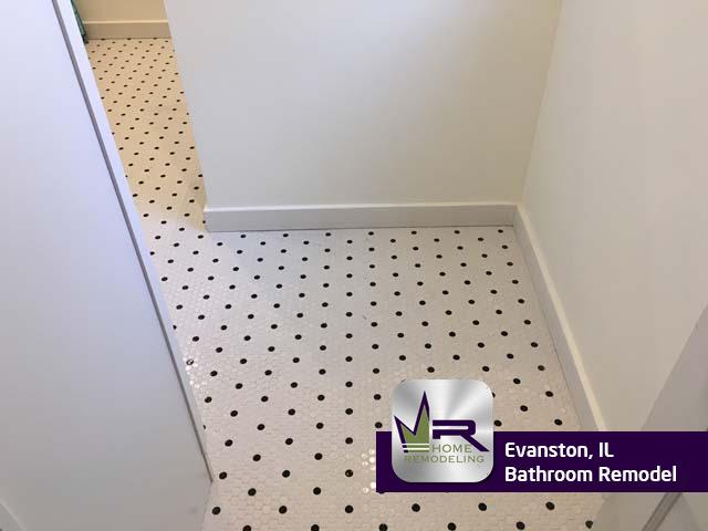 Bathroom Remodel - 1014 Elmwood Ave, Evanston, IL 60202 by Regency Home Remodeling