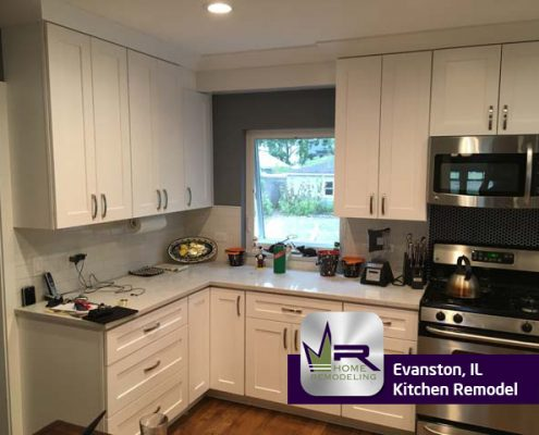 Kitchen Remodel - 1014 Elmwood Ave, Evanston, IL 60202 by Regency Home Remodeling