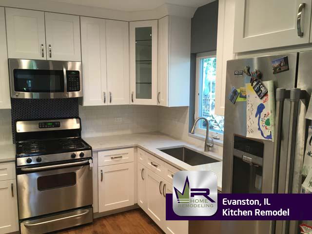 Kitchen Remodel - 1014 Elmwood Ave, Evanston, IL 60202 by Regency Home Remodeling