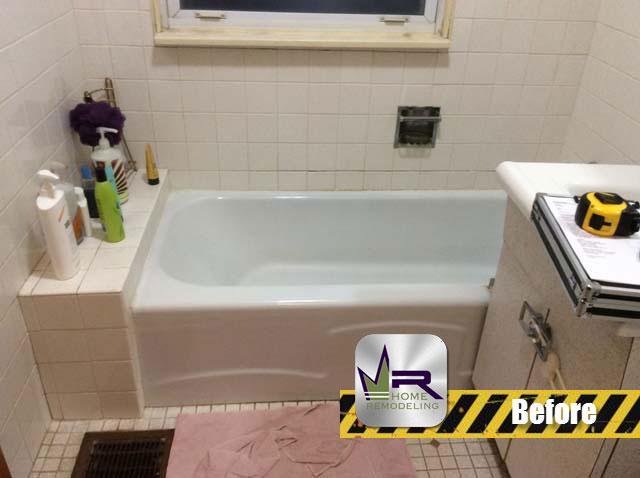 Bathroom Remodel - 5287 N Northwest Hwy, Chicago, IL 60630 by Regency Home Remodeling