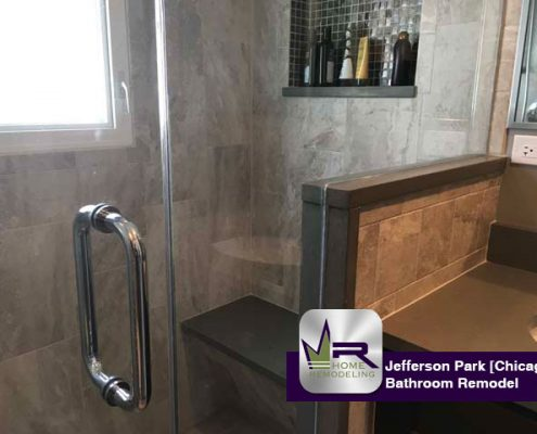 Bathroom Remodel - 5287 N Northwest Hwy, Chicago, IL 60630 by Regency Home Remodeling