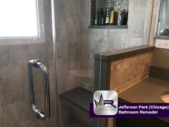 Jefferson Park Bathroom Remodel by Regency Home Remodeling