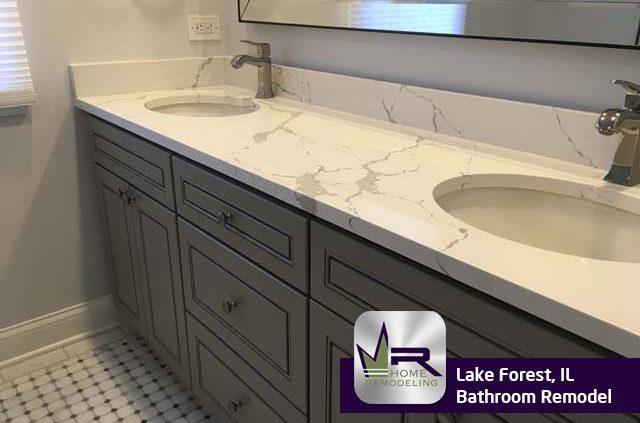 Bathroom Remodel - 117 Surrey Ln, lake Forest, IL 60045 by Regency Home Remodeling