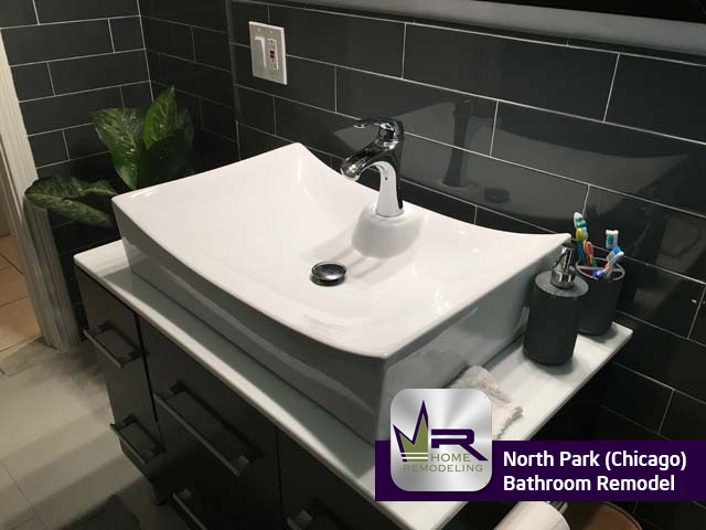 Bathroom remodel in North Park (Chicago) by Regency Home Remodeling
