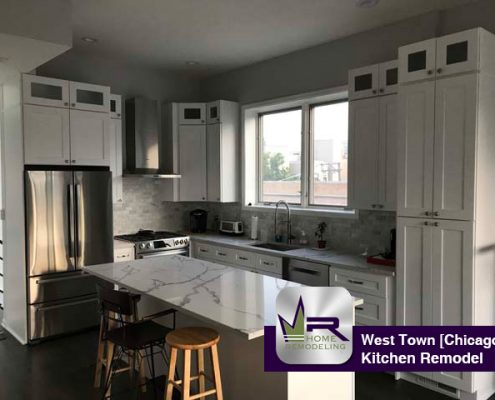Kitchen Remodel in West Town (Chicago) by Regency