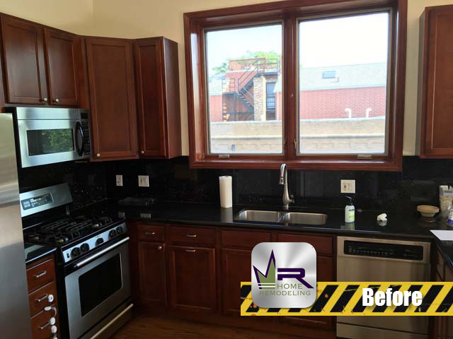 West Town Kitchen Remodel - 1086 N Paulina St, Chicago, IL 60622 by Regency Home Remodeling