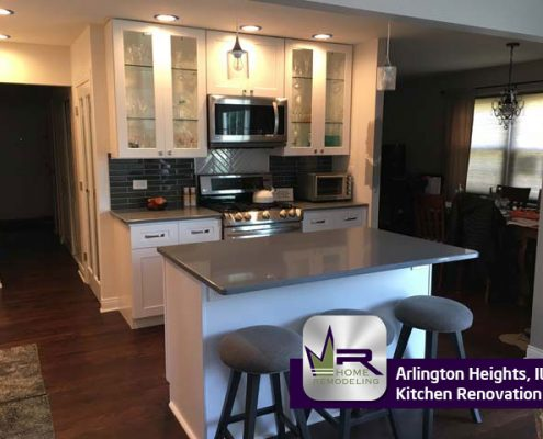 Kitchen Remodel - 1536 N Kaspar Ave, Arlington Heights, IL 60004 by Regency Home Remodeling