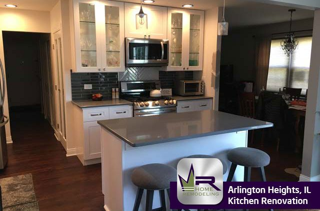 Kitchen Remodel in Arlington Heights, IL by Regency Home Remodeling