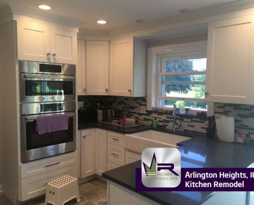 Kitchen renovation in Arlington Heights, IL by Regency Home Remodeling