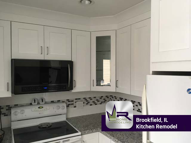 Kitchen Remodel - 9610 Jefferson Ave, Brookfield, IL 60513 by Regency Home Remodeling