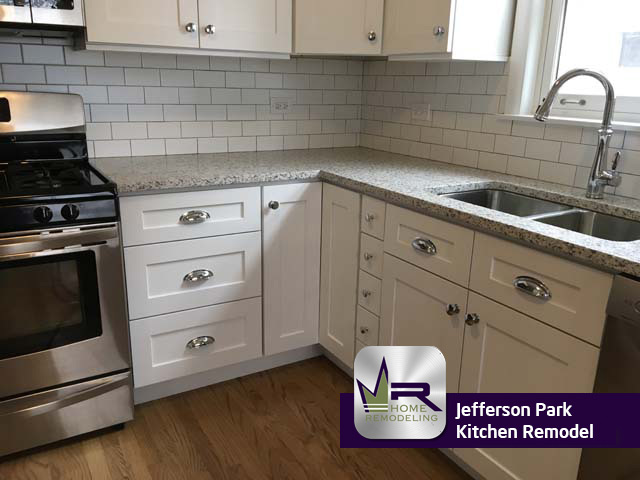 Jefferson Park Kitchen Remodel - 5022 N Mulligan Ave, Chicago, IL 60630 by Regency Home Remodeling