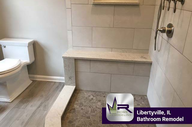 Bathroom remodel in Libertyville, IL by Regency Home Remodeling
