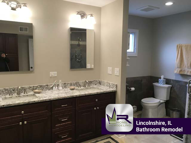 Lincolnshire Bathroom Remodel by Regency Home Remodeling