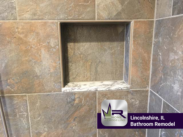 Bathroom Remodel - 111 Rivershire Ln, Lincolnshire, IL 60069 by Regency Home Remodeling