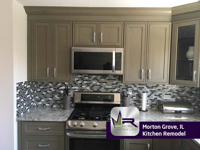 Kitchen Remodel - 9247 Olcott Ave, Morton Grove, IL 60053 by Regency Home Remodeling
