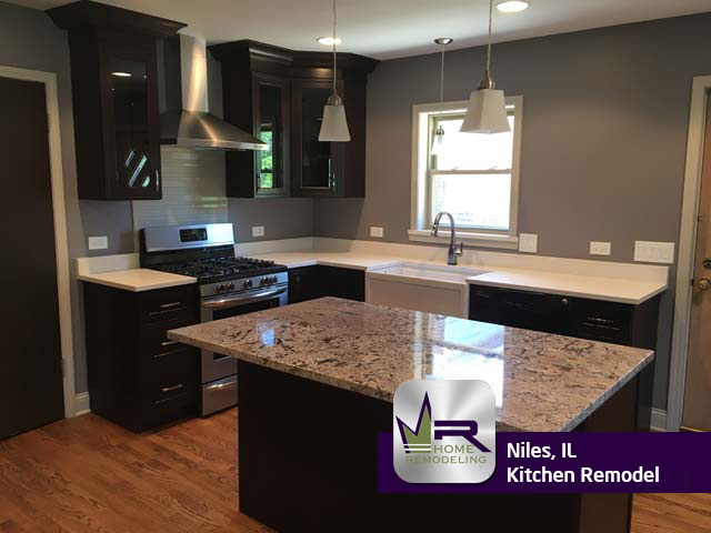 Niles Kitchen Remodel by Regency Home Remodeling
