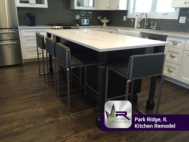 Kitchen Remodel - 1215 S Washington Ave, Park Ridge, IL 60068 by Regency Home Remodeling