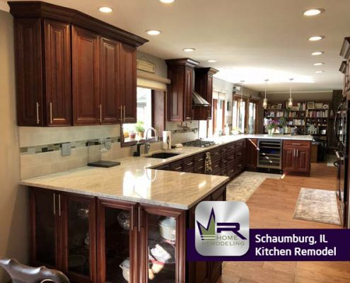 Kitchen Remodel in Schaumburg, IL by Regency Home Remodeling