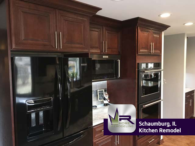 Kitchen Remodel - 312 Wyoma Ln, Schaumburg, IL 60193 by Regency Home Remodeling