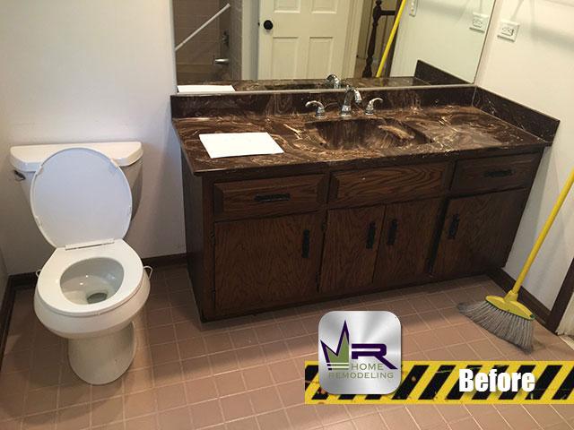 Bathroom Remodel - 705 Interlaken Dr, Lake Zurich, IL 60047 by Regency Home Remodeling
