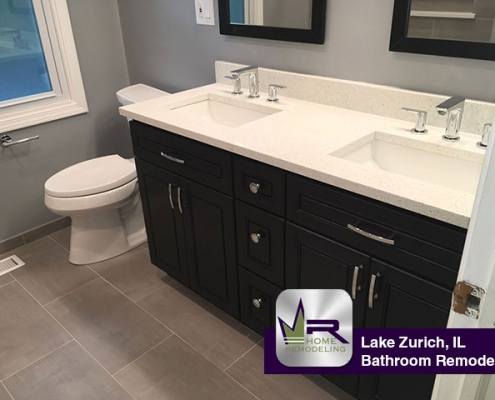Bathroom Remodel - 705 Interlaken Dr, Lake Zurich, IL 60047 by Regency Home Remodeling
