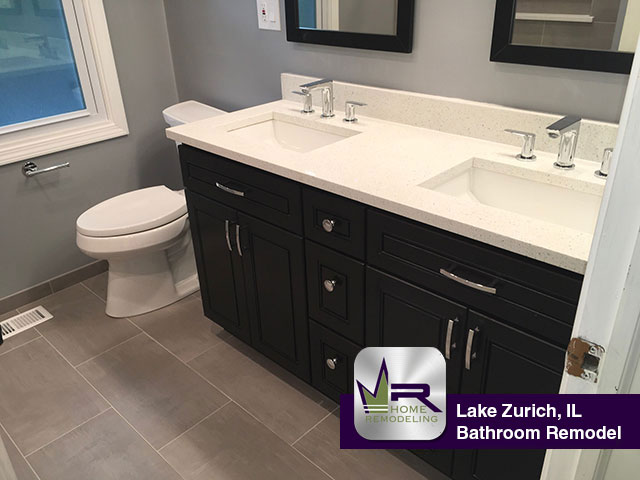 Bathroom remodel in Lake Zurich, IL by Regency Home Remodeling