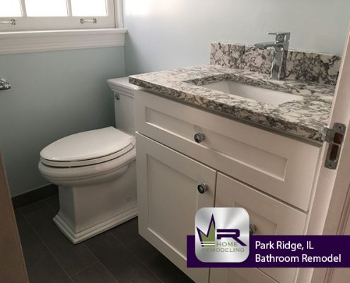 Park Ridge bathroom remodel by Regency Home Remodeling