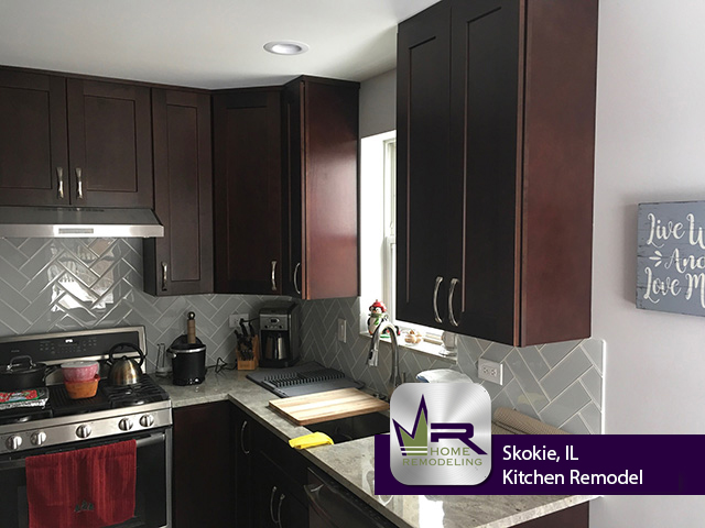 Kitchen renovation in Skokie, IL by Regency Home Remodeling