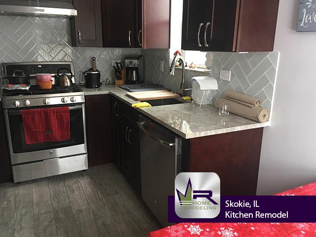 Kitchen Remodel - 3823 Harvard Terrace, Skokie, IL 60076 by Regency Home Remodeling