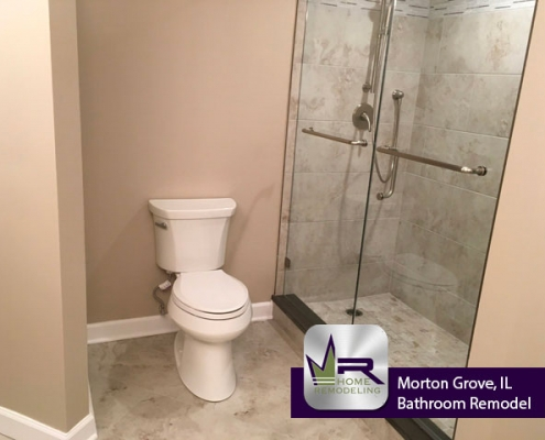 Bathroom Remodel - 8440 Callie Ave, Morton Grove, IL 60053 by Regency Home Remodeling