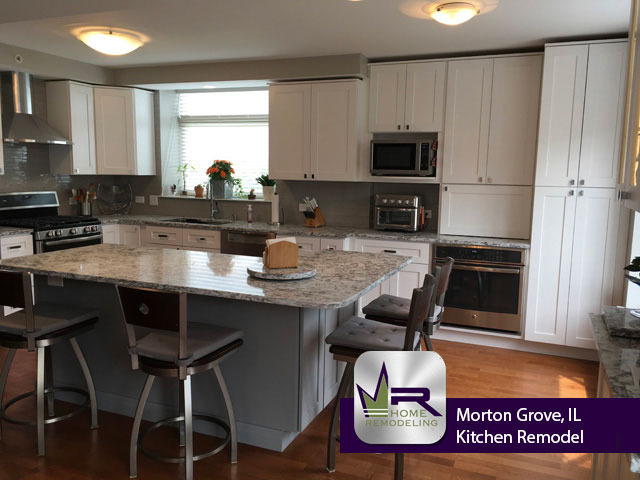 Kitchen Remodel - 8440 Callie Ave, Morton Grove, IL 60053 by Regency Home Remodeling