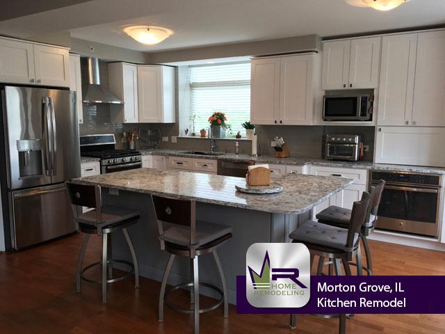 Kitchen remodel in Morton Grove, IL by Regency Home Remodeling