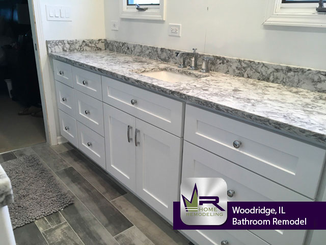Bathroom Remodel - 1224 Gloucester Rd, Woodridge, IL 60517 by Regency Home Remodeling