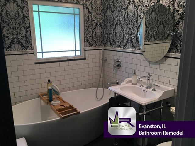Bathroom Remodel - 84 Williamsburg Rd, Evanston, IL 60203 by Regency Home Remodeling