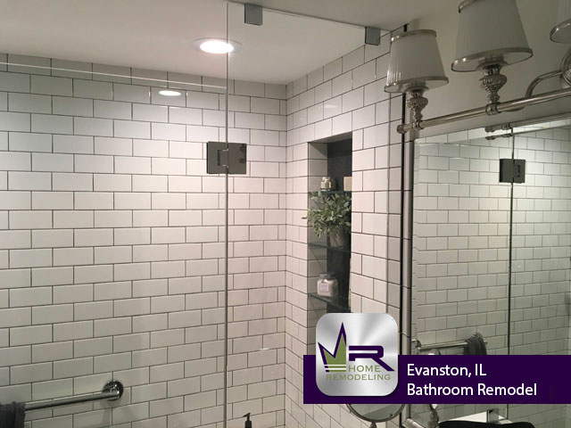 Bathroom Remodel - 84 Williamsburg Rd, Evanston, IL 60203 by Regency Home Remodeling