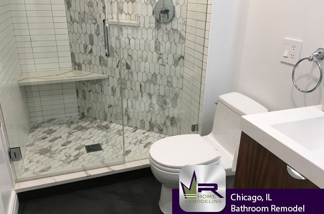 Lincoln Park (Chicago) Bathroom Remodel