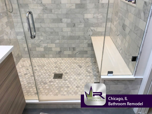 Bathroom Remodel - 2609 N Southport Ave, Chicago, IL 60614 by Regency Home Remodeling